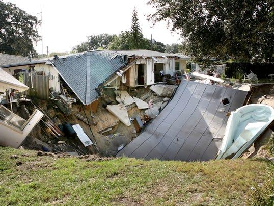 AP Florida Sinkhole