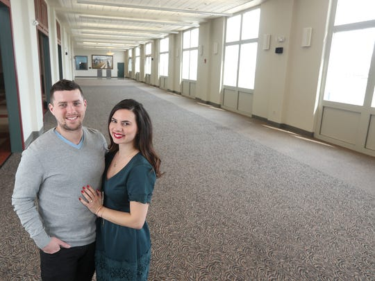 Agathi Georgiou Graham and her husband Edward Zachary Graham are co-owners of Arbor at the Port, an event space in the Port of Rochester.