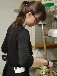 Erin Zielinski has been a waitress at Vivere Italian