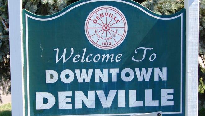 Downtown Denville sign
