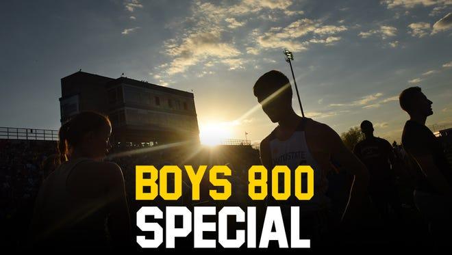 Boys 800 Special