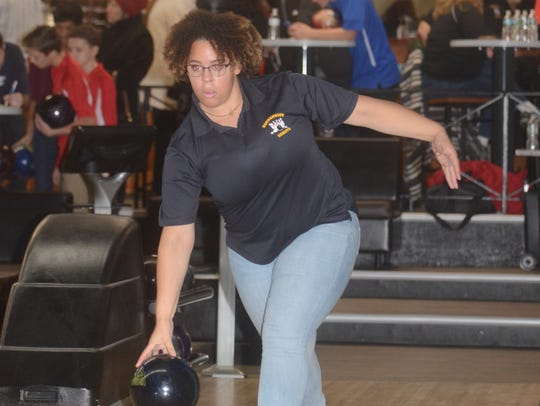 Arielle Wallace is the top returning bowler for Hackensack this season.