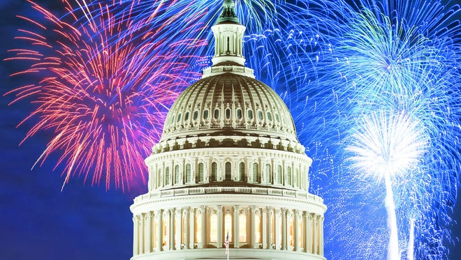 Celebrate America's 240th birthday with a star-spangled party and  fireworks