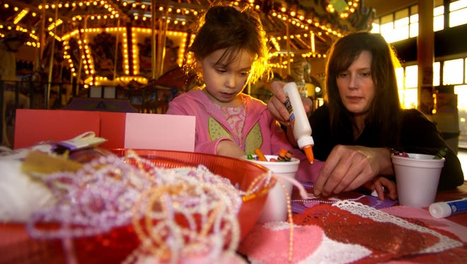 Cupid's Night Out: Unlimited carousel rides, Valentine crafts and activities including cookie decorating, 5 to 7 p.m. Saturday, Feb. 10, Salem's Riverfront Carousel, 101 Front St. Northeast, Salem. $5. 503-540-0374.