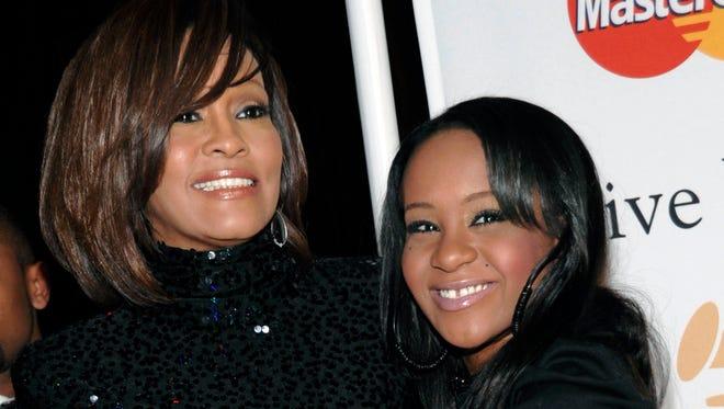 Whitney Houston and daughter Bobbi Kristina Brown in 2011.