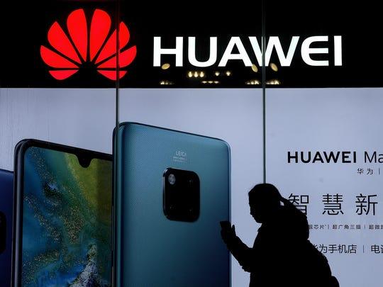 China fired back Monday amid U.S. pressure on Huawei.