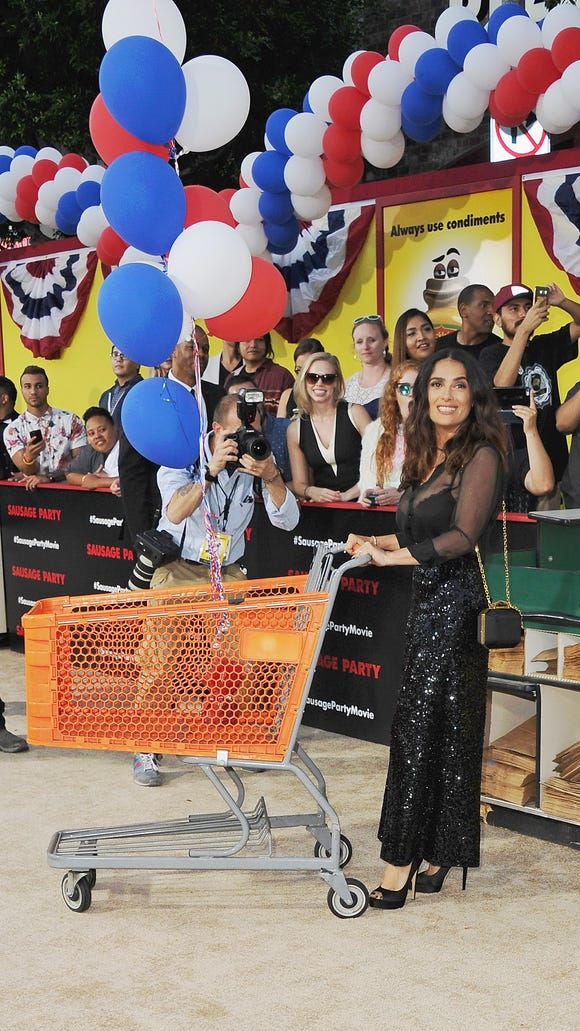 If only Salma Hayek attended real-life grocery store