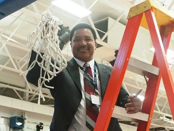 Peekskill alum James Robinson was approved by the Peekskill Board of Education to become the Lady Red Devils head coach on Sept. 6, 2016.