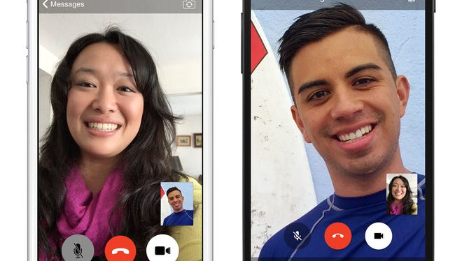 Facebook Messenger adds video calling.