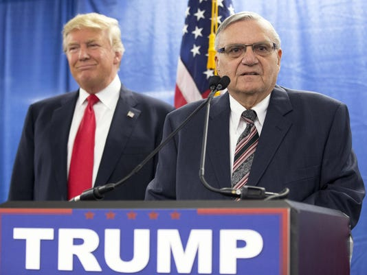Donald Trump,Joe Arpaio