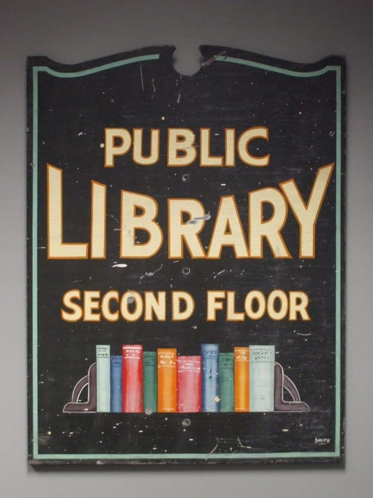 Library Sign #2