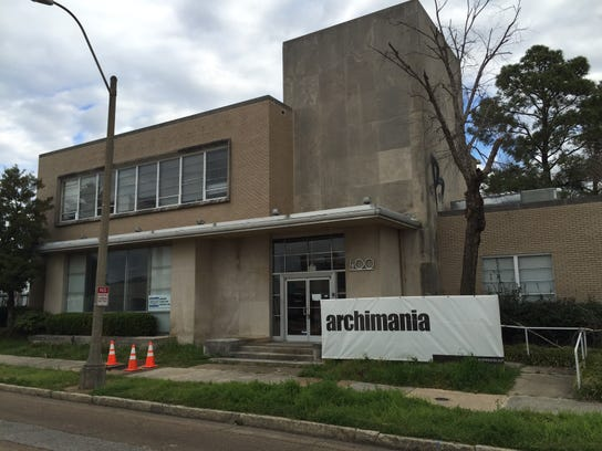Memphis architectural firm archimania designed the Made in Memphis Entertainment offices and studios that went into a renovated former insurance company building at  400 Union. (By Thomas Bailey/The Commercial Appeal)