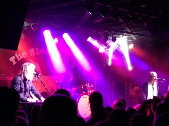 Matt O'Ree with the Matt O'Ree Band and David Bryan