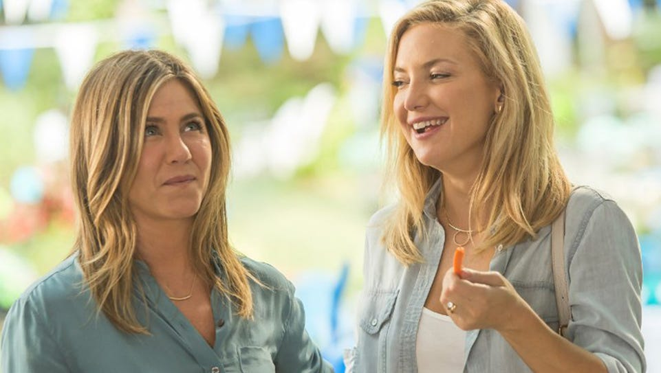 "Jennifer Aniston and Kate Hudson in ""Mother's Day."""
