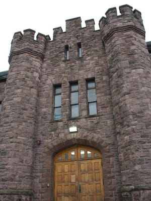 The former state Armory in Medina, which now houses the Orleans County YMCA, is a nominee for the Sandstone Hall of Fame.