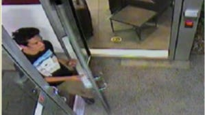 ASU police have released surveillance footage of a man who exposed himself to two stuidents in a women's restroom at the Taylor Place Residential Hall on Nov. 27, 2017.