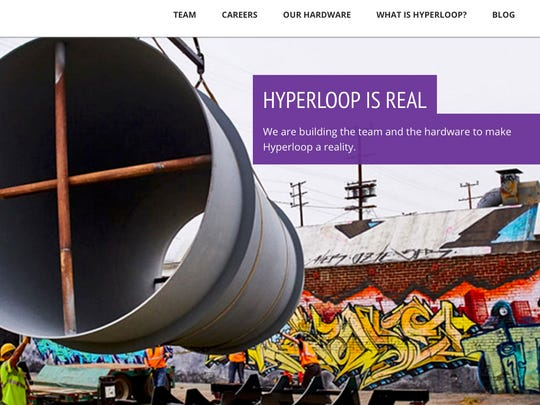 Hyperloop Technologies, one of a number of outfits