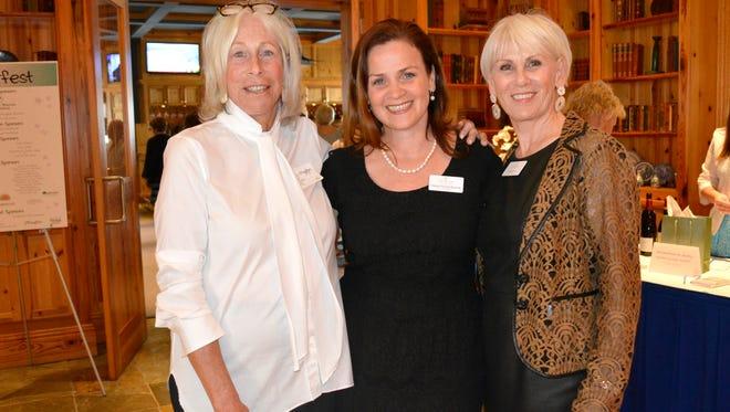 Judy Munn, Shannon McGuire Bowman and Karla Spooner