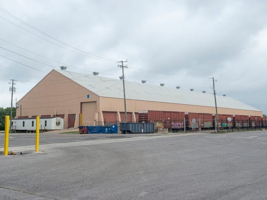 The Port of Pensacola Warehouse 4 in Pensacola is pictured