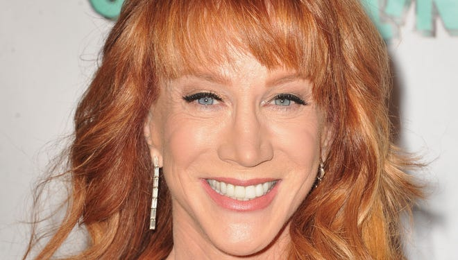 Kathy Griffin arrives at The Groundlings 40th Anniversary Gala on Sunday, June 1, 2014, in Los Angeles.