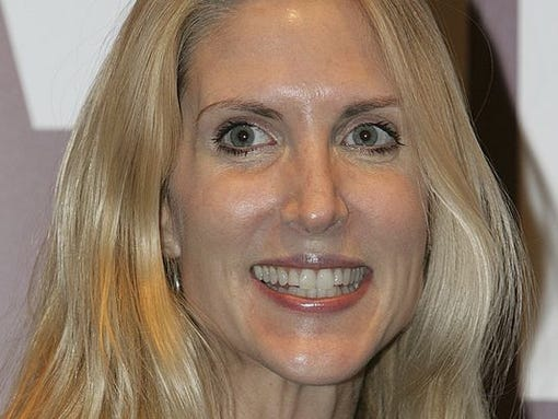 Conservative political commentator Ann Coulter in 2005.