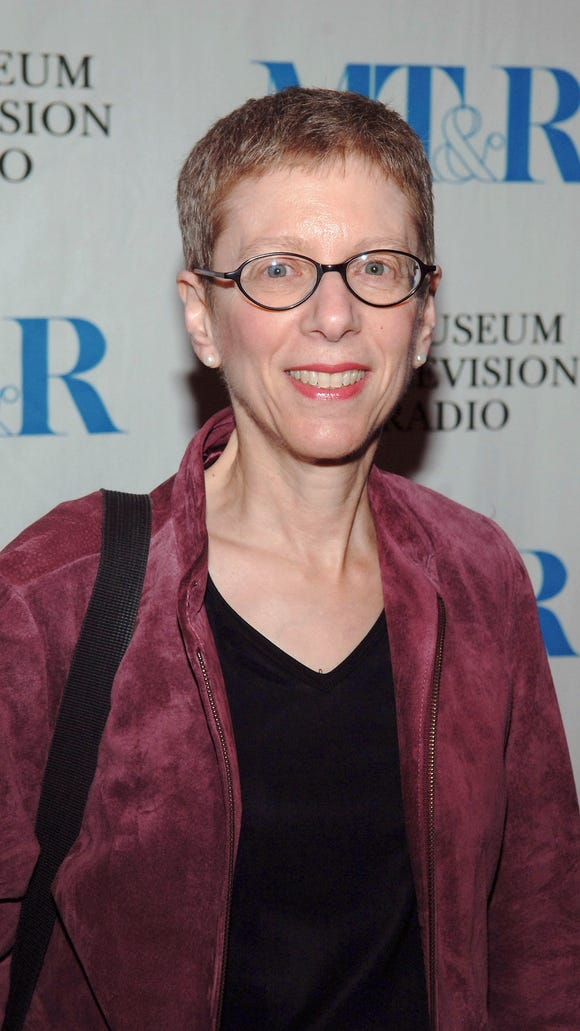 """Terry Gross arrives at the  launch party for """"She Made It: Women Creating Television and Radio"""" in 2005 in New York City."""