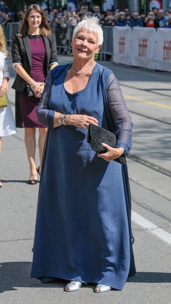 Judi Dench, queen of hearts.