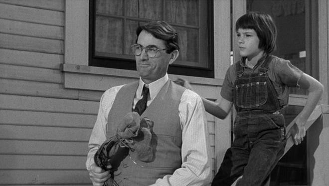 "Atticus Finch (Gregory Peck) in ""To Kill a Mockingbird"": We withhold judgment of others because (we) ""never will understand another person until (we) consider things from his point of view ... until you climb into his skin and walk around in it."""