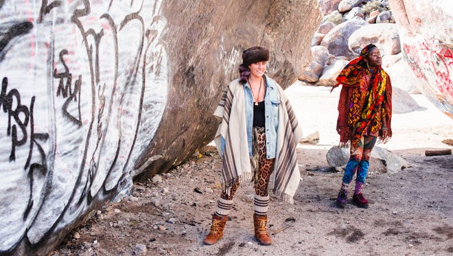 For this pair of high desert artists originally from New York, fashion is another form of art.