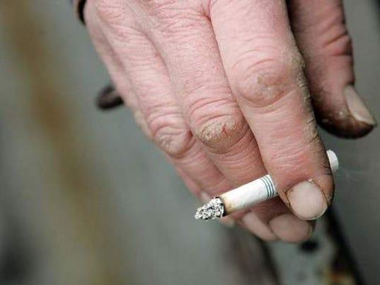 Navy tobacco ban