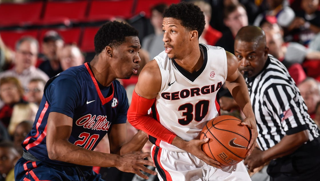 Frazier, Gaines power Georgia past Ole Miss, 80-66