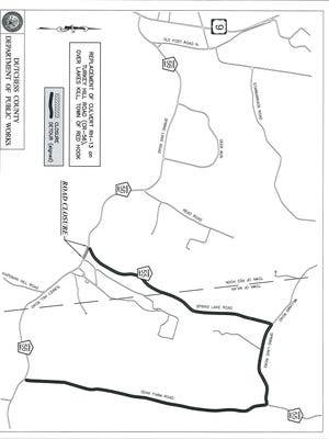 Park of Turkey Hill Road will be closed starting on Aug. 13, according to the Department of Public Works.