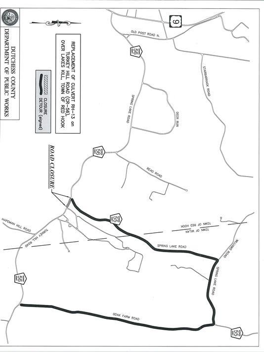 Turkey Hill Road closure