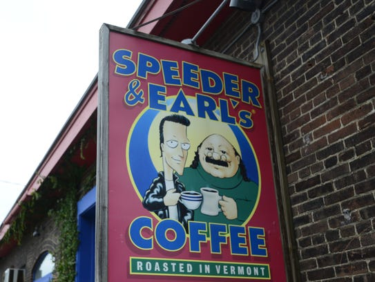 Speeder & Earl's coffee shop on Pine Street in Burlington