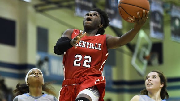Greenville High senior Madisen Smith (22), who has three consecutive 30-point games, is the Greenville County Girls Basketball Player of the Week.
