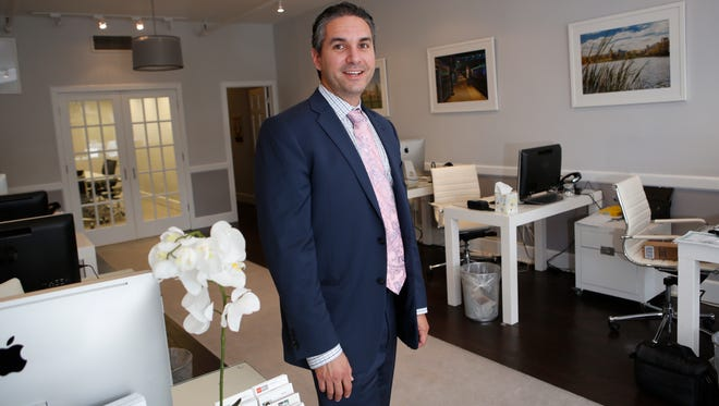 Seth Keslow, with Platinum Drive Realty in Scarsdale on Oct. 13, 2014. Keslow will be featured in a upcoming episode of HGTV House Hunters.