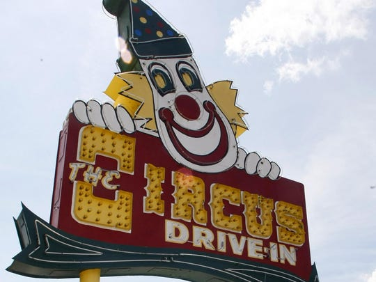 The Circus Drive-in Restaurant on Route 35 in Wall.