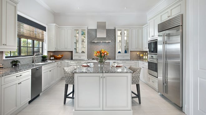 When potential buyer Susan Howard viewed the model at Ravenna she was impressed with the size and quality of the kitchen