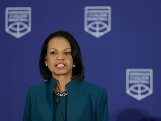 Condoleezza Rice NCAA
