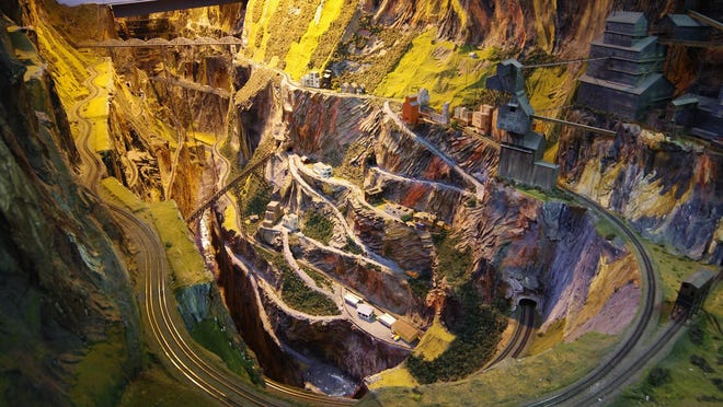 Northlandz, located on Route 202 in Raritan Township, is a fantastical environment of imaginative topography that makes up the world's largest model train set.