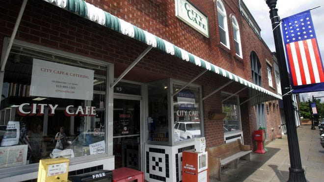 The iconic City Cafe is located on East Main Street in Murfreesboro.