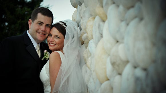 Larry and Lauren Bloomstein met at the hospital in 2004. They married five years later. Courtesy of the Bloomstein Family
