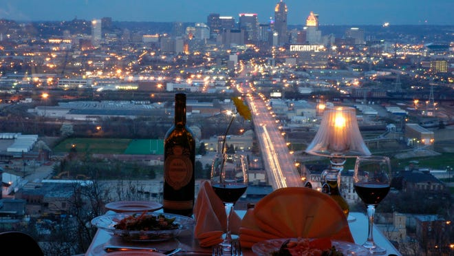 Primavista offers a four-course dinner and a far-off, panoramic view.
