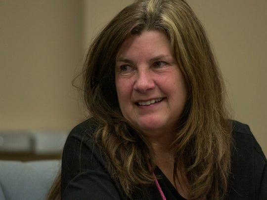 Lesa Keith during the Montgomery Board of Education