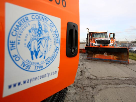 The Wayne County's Roads Division showed off a few