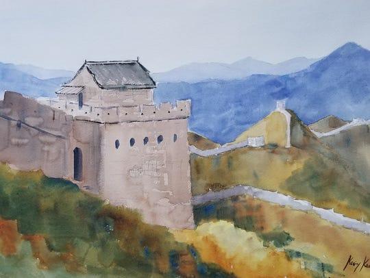 """The Great Wall of China"" by Keary Kautzer"