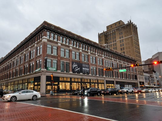 Former Newark landmark Hahne's reborn as apartments, stores reopening ceremony.