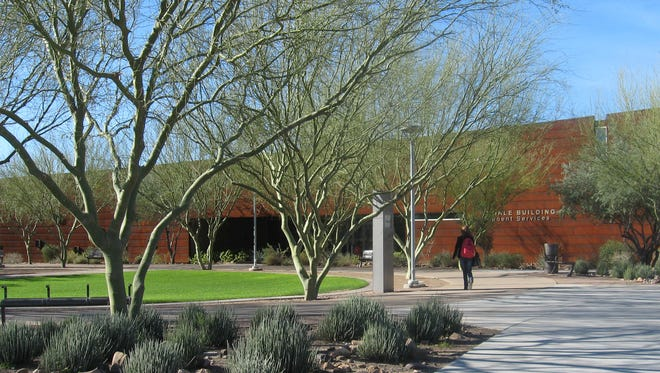 Glendale Community College North, part of the Maricopa County Community College District.