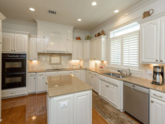 The kitchen at 7717 Creswell Road No. 14.
