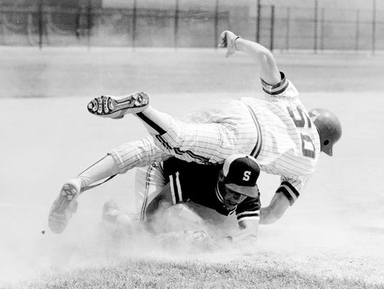 Seaholm's gritty march to the 1988 baseball  state championship featured last-at-bat victories in its first five games.